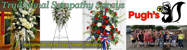 Traditional Sympathy Sprays